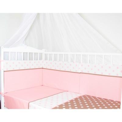"""Бортики подушки в детскую кроватку """"Mona Lisa"""" CherryMom"""