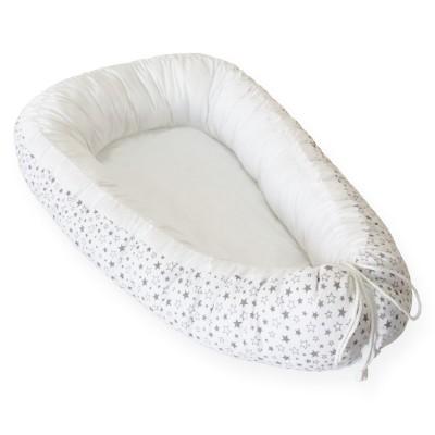 """Cherry Mom Кокон-гнездышко для новорожденного """"Белые ночи"""""""