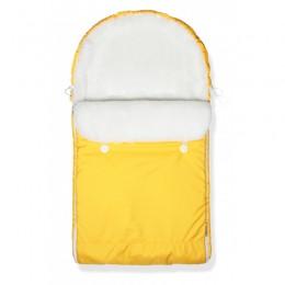 """Конверт в коляску (санки) """"Yellow"""" (CherryMom)"""