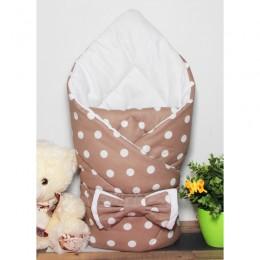 """Конверт одеяло для новорожденного """"Капучино"""" (CherryMom)"""