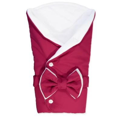 """Детский конверт-одеяло круглое на выписку для девочки """"Cherry Button"""" CherryMom"""