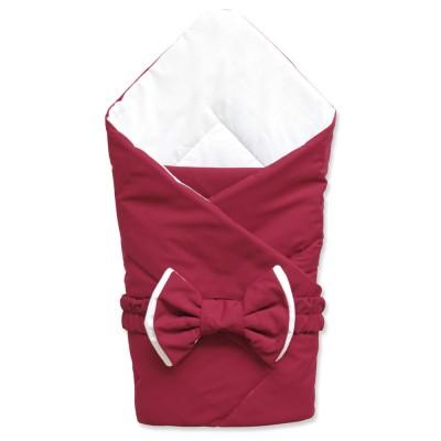 """Конверт одеяло на выписку для новорожденной девочки """"Марон"""" (CherryMom)"""