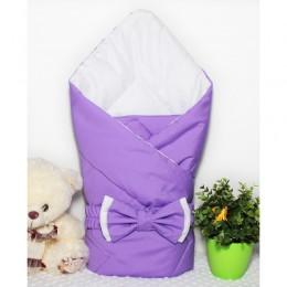 """Конверт одеяло на выписку для девочки """"Lilac"""" (CherryMom)"""