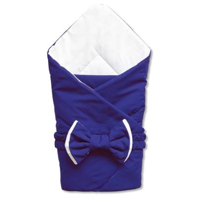 """Одеяло конверт для новорожденного мальчика на выписку """"Нави"""" CherryMom"""