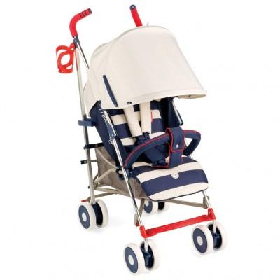"""Детская прогулочная коляска-трость Happy Baby """"Cindy"""" Blue (Синий)"""