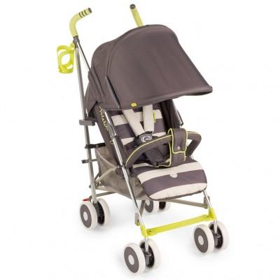 """Детская прогулочная коляска-трость Happy Baby """"Cindy"""" Grey (Серый)"""