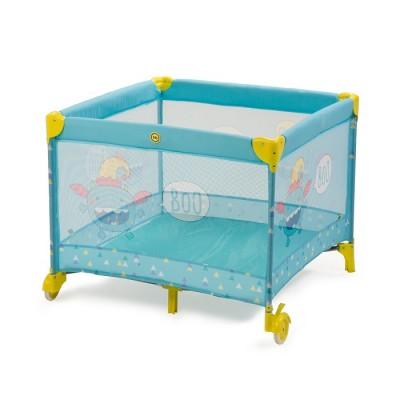 "Детский манеж кроватка Happy Baby ""Alex"" Blue (голубой)"