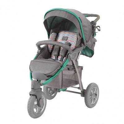 "Детская прогулочная коляска Happy Baby  ""NEON SPORT"" Green (Зеленый)"
