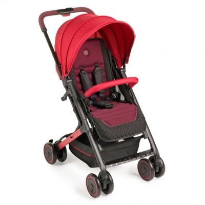 "Детская прогулочная коляска  Happy Baby ""Jetta"" Cherry (Вишневый)"