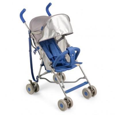 """Детская прогулочная коляска-трость Happy Baby """"Twiggy"""" Blue (Синий)"""