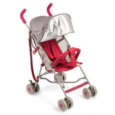 """Детская прогулочная коляска-трость Happy Baby """"Twiggy"""" Red (Красный)"""