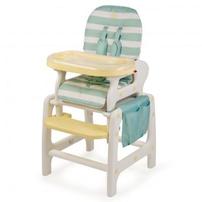 Детский стульчик-трансформер для кормления Happy Baby Oliver V2 Blue (Синий)