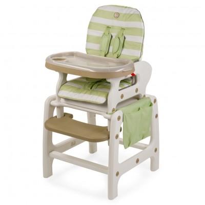 """Детский стульчик-трансформер для кормления Happy Baby """"Oliver V2"""" Green (Зеленый)"""