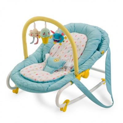 "Детский шезлонг Happy Baby ""Nesty"" Blue (Синий)"