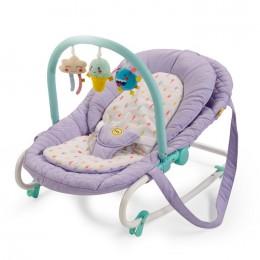 """Детский шезлонг Happy Baby """"Nesty"""" Violet (Фиолетовый)"""