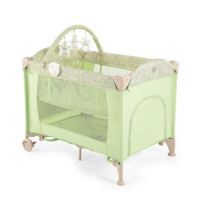 """Детский манеж - кровать Happy Baby """"Lagoon V2"""" Green (Зеленый)"""