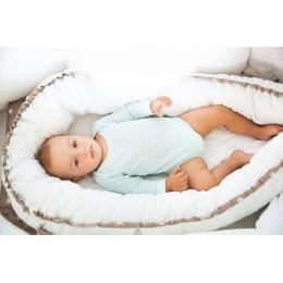 """Кокон для новорожденного """"Перинка"""" (Белая)"""