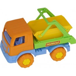 """Детская машинка мусоровоз """"Тёма"""", автомобиль-коммунальная спецмашина (Полесье)"""
