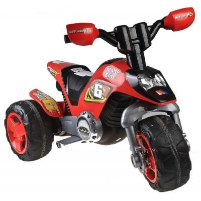 """Детский электромотоцикл """"Molto Elite 6"""", 6V (R) Полесье (Molto)"""