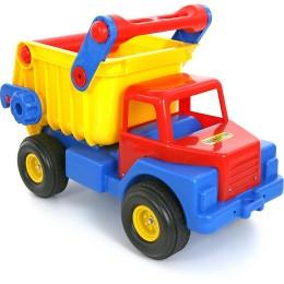 """Детский большой самосвал """"Самосвал №1"""" с резиновыми колёсами (Wader Полесье)"""