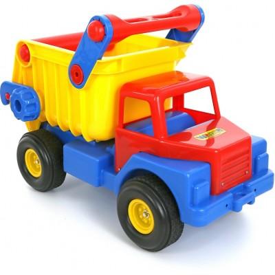 """Детский большой игрушечный """"Автомобиль-самосвал №1"""" с резиновыми колёсами Полесье"""