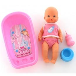 """Кукла """"Пупс"""": пьёт и ходит на горшок (с ванной для купания) Falca"""