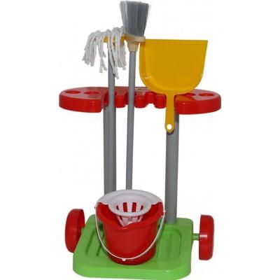 """Детский набор для уборки дома  """"Помощница-2"""" Полесье"""