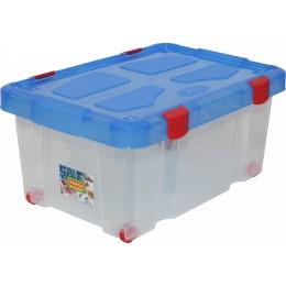 Контейнер на колёсиках с крышкой для хранения игрушек (Полесье)
