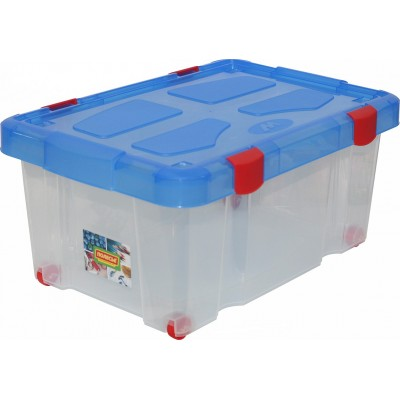 Контейнер для хранения и транспортировки (на колёсиках с крышкой, 45 литров) Полесье
