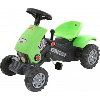 """Детская каталка-трактор с педалями """"Turbo-2"""" Полесье"""
