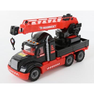 """205-01 """"MAMMOET"""", автомобиль-кран с поворотной платформой (Полесье)"""