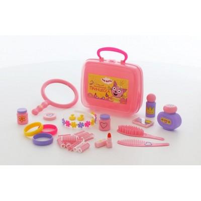 """Детский игровой набор принцессы """"Три Кота"""" (в чемоданчике) Полесье"""