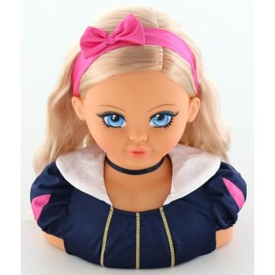 """Кукла-бюст для причёсок  """"Юный стилист"""" (FALCA)"""