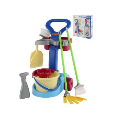 """Детский набор для уборки дома """"Чистюля"""" (в коробке) Полесье"""
