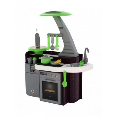 """Детская игровая кухня - набор со светом и звуком """"Laura"""" с варочной панелью (в пакете) Полесье"""