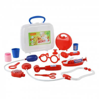 """Детский игровой набор доктора """"Доктор №3"""" (в чемоданчике) Полесье"""