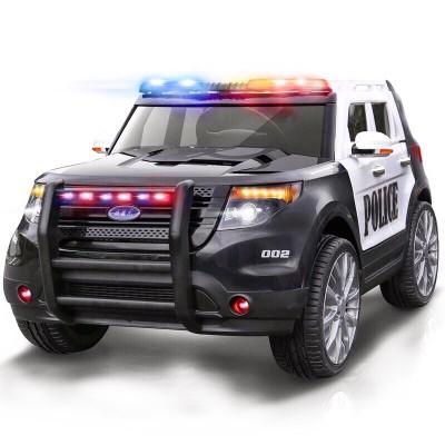 """Детский полицейский электромобиль """"Ford Police car"""" с мигалками и сиреной"""