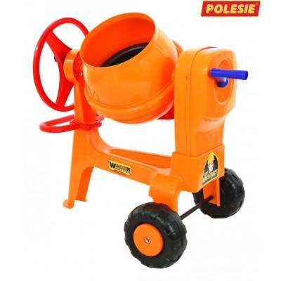 """Детская игрушечная бетономешалка №1 """"Construct"""" (Wader Polesie) Полесье"""