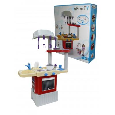 """Детская игрушечная кухня """"INFINITY basic №1"""" (в коробке) Полесье"""