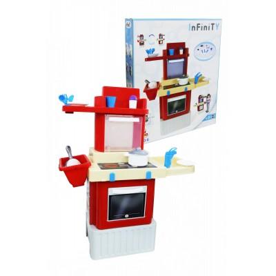 """Детская игрушечная кухня """"INFINITY"""" basic №2 (в коробке) Полесье"""