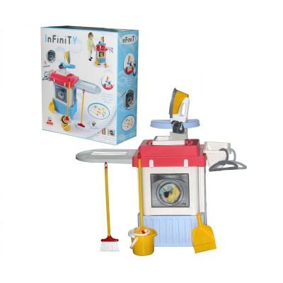 """Детский игровой набор (комплекс) стиральная машина с водой и звуком """"INFINITY premium"""" №1 Palau Полесье"""