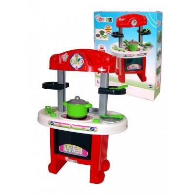 """Игровой набор кухня """"BU-BU"""" №9 (в коробке) (со звуковыми эффектами) Полесье"""