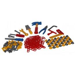 Детский набор инструментов №6 (132 элемента в пакете) Полесье