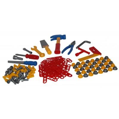 Детские инструменты, набор №6 (132 элемента в пакете) Полесье
