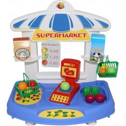 """Детский игрушечный магазин, настольный """"Супермаркет """"Алеся"""" (Coloma Полесье)"""