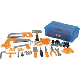 Набор детских инструментов №9 (156 элементов) (в контейнере) Полесье