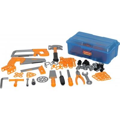 Набор игрушечных инструментов №9 (156 элементов) (в контейнере) Полесье