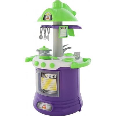 """Детская игрушечная кухня (набор) """"BABY GLO"""" №2 (в пакете) Полесье"""