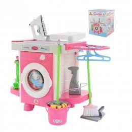 Детская стиральная машина - набор Carmen №5 с аксессуарами (Кармен)