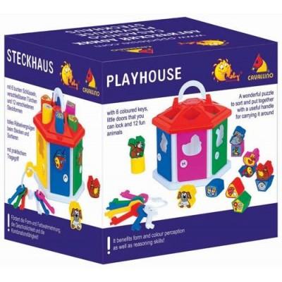 """Развивающая игрушка """"Логический домик"""" (в коробке) Полесье"""